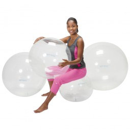 Gymnic® Opti-Ball Gymnastikball transparent