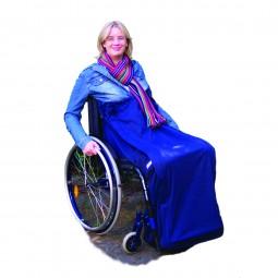 Rollstuhl Schlupfsack Softshell mit Lotus-Effekt
