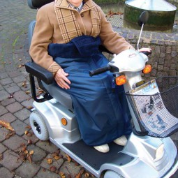 Wickeldecke für Rollstühle