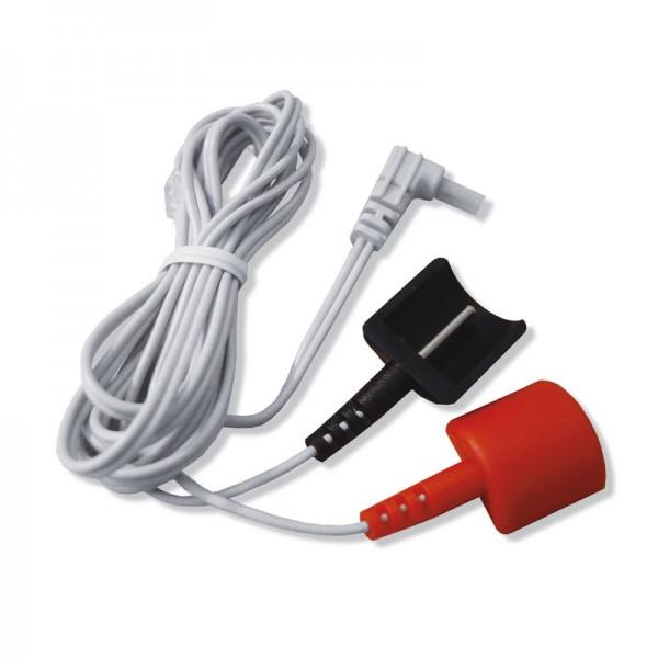 Sanowell Kabel für Dauerelektroden - EMS und TENS Geräte