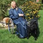 Regencape für Rollstuhlfahrer mit Armen