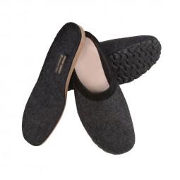 Werkmeister Herrenpantoffeln mit herausnehmbarem Fußbett