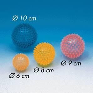 Igelball, gelb, 8 cm Ø