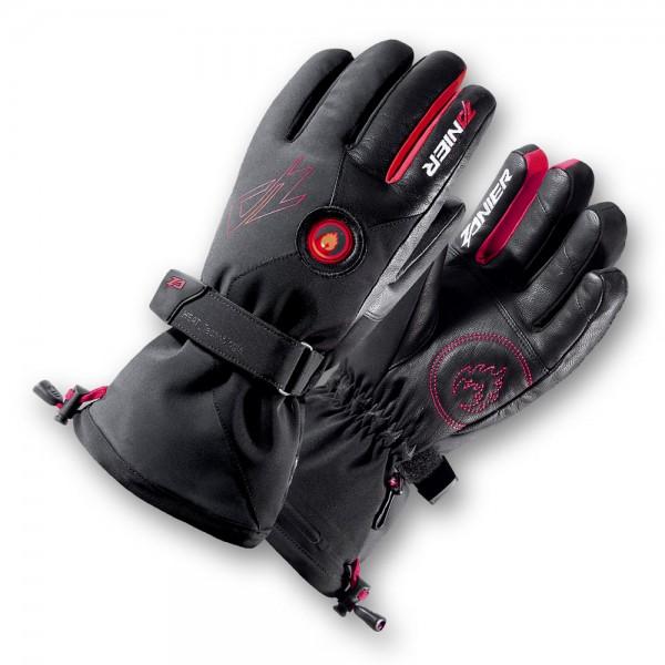 Zanier HEAT.GTX Beheizbare Handschuhe für Herren schwarz-rot