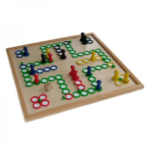 Brettspiel für Blinde - magnetisch, taktil, handgefertigt
