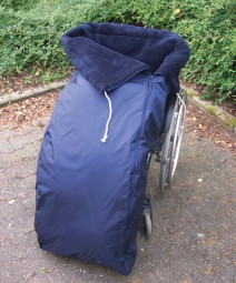 Webpelz Schlupfsack für Rollstuhlfahrer