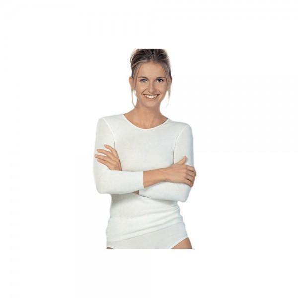Medima Damen Unterhemd Langarm 20% Angora