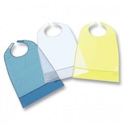 Suprima Ess-Schürze PVC mit Auffang Klettverschluss