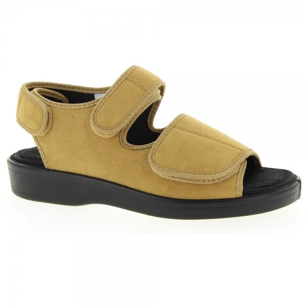 "Varomed Sandale ""LUGANO"" für Verbände, beige"