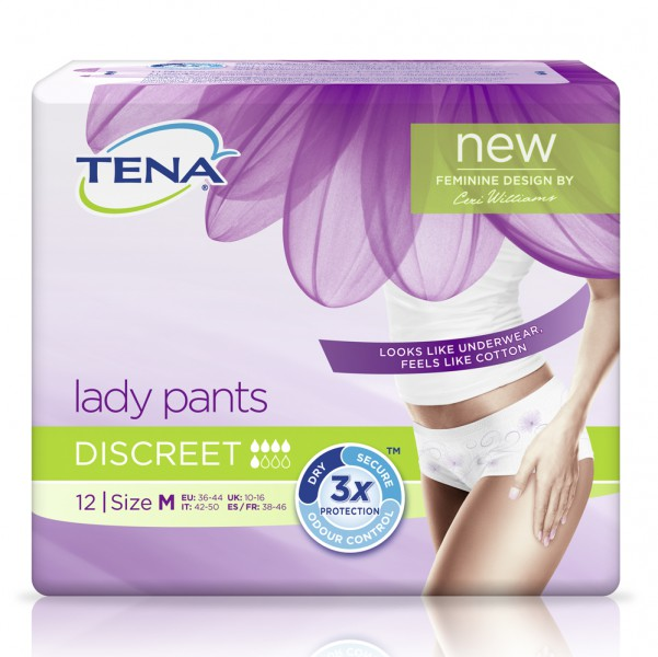 TENA Lady Pants Discreet M (1x12 Stück)