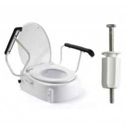 Russka Toilettensitzerhöher mit Armlehnen