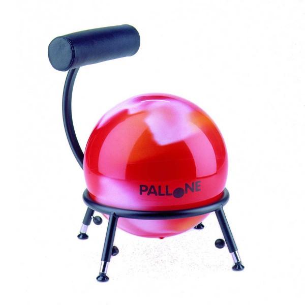 Sitzball-Stuhl Pallone 1 für Kinder - mit Gleitern