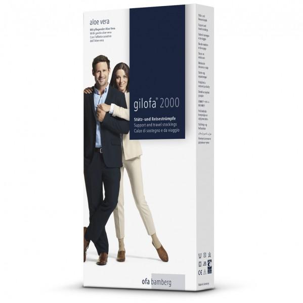Gilofa 2000 Stütz- und Reisestrumpf Aloe Vera