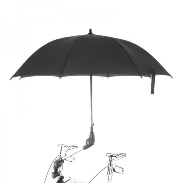 MPB Pieper Rollatorschirm schwarz für Meyra Gentleman MYG-S