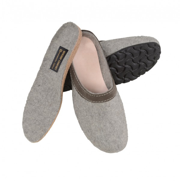 Werkmeister Damenpantoffeln mit herausnehmbarem Fußbett