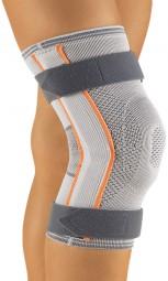Bort Stabilo® Kniebandage mit Gelenk für Kinder, silber