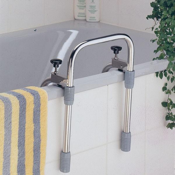 Meyra Sicherheitsgriff für die Badewanne, Edelstahl