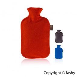 Fashy Wärmflasche mit Vliesbezug