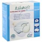 Rehosoft Schaumstoff Toilettensitzerhöhung ohne Deckel