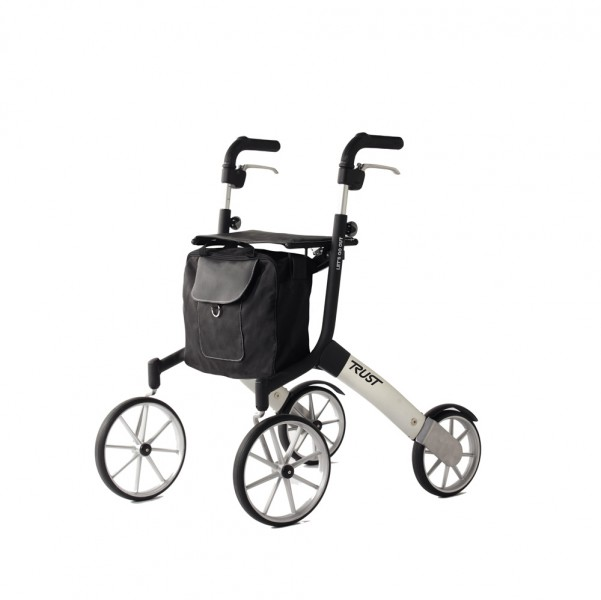 Trust Care Outdoor Rollator Let's Go Out schwarz silber