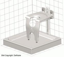 Delficare Duschsitz